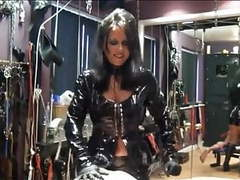 Latex strapon mistress movies at find-best-lingerie.com