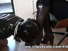 Milking slave cum onto my hunter rubber boots & eating it movies at nastyadult.info