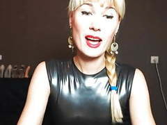 Mature slave in latex videos