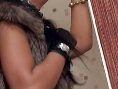 Fancy bitch gets fucked in fur vest movies at find-best-pussy.com