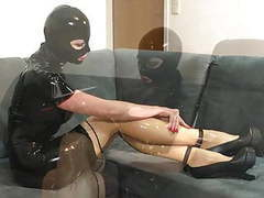 Bupshi - latex and new extreme heels movies