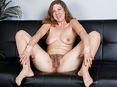 American milf valentine fingers her hairy pussy movies at find-best-babes.com