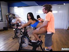 Latina workout booty movies at freekilomovies.com