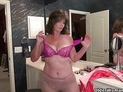American grannies ava and penny having bathroom fun movies at find-best-ass.com