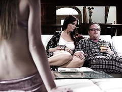 We are a happy family now! - alex blake and syren de mer videos