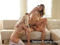 Nubiles casting - can this teen firecracker make it in porn? movies at freekilosex.com