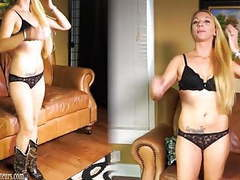 Amateur mom on casting couch gets dirty at brandnewamateurs tubes
