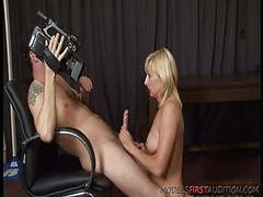 British milf pippa models first audition tubes