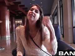 Zoey laine takes a raw dick and load to the face for bang! tubes