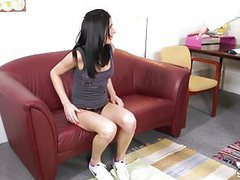 Fakeshooting - surprised young secretary fuck for job movies at find-best-tits.com