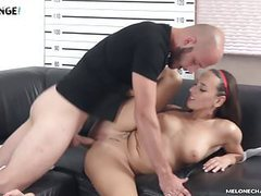 Melonechallenge - silent guy show big cock and fuck mea hard movies