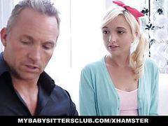 Mybabysittersclub adorable teen babysitter fucks for a raise movies at kilotop.com