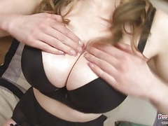 Sapphire boobs fun and dildo fuck videos