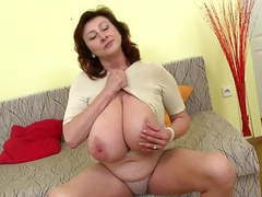 Gorgeous mature mother with huge tits and perfect mature movies