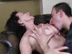 Old granny fucked by her young boy movies at adipics.com