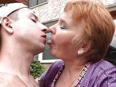 Old granny fucks her toy boy movies at find-best-lingerie.com