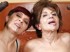 Grannies hardcore fucked interracial porn with old women sex videos
