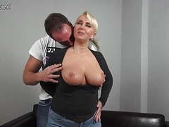 Sexy big breasted german mom fucking young boy movies at kilomatures.com