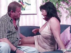 German mom and dad in porn casting for less money movies at adipics.com