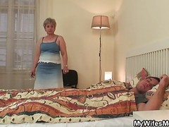 Wifes old mother jumps on my cock! tubes
