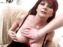 Old grandma slut suck and fuck big young cock videos