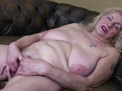 Very old granny oma gilf with big saggy tits videos