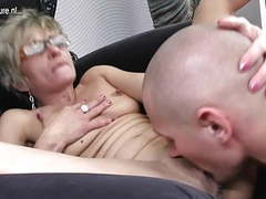 Old mature mom gets fucked by her toyboy movies at find-best-videos.com