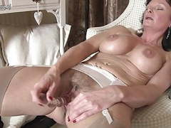 Sexy british milf loves to masturbate movies at kilogirls.com