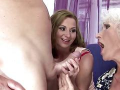 Mom and granny fucked and pissed on by son clip
