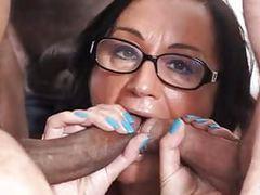 Scambisti maturi - italian swinger in interracial dp orgy tubes