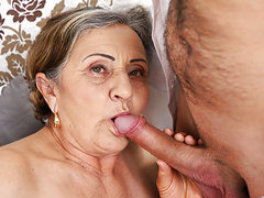 Hairy granny pussy fucked deep movies at find-best-mature.com