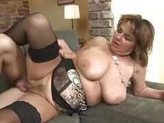 Mature busty mother suck n fuck young lucky son tubes