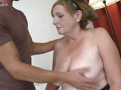 Granny fucked by young boy doggy style movies