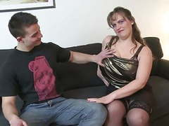 Young boy fucks busty mature mother movies at freekilosex.com