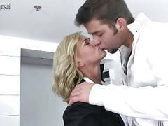 Mother getting fucked by her son's friend movies at freekilosex.com