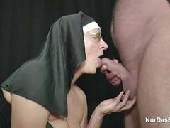 German granny milf make porn casting for money for church movies at find-best-videos.com
