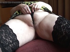 Curvy mature granny with big round butt and hairy pussy movies at find-best-lingerie.com