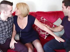 Mature mother fucked by two young sons videos