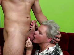 Old granny licked and fucked by young boy videos