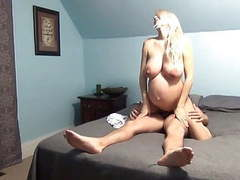 Pregnant blonde riding dick featured movies at find-best-ass.com
