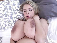 Pregnant katerina hartlova slowly strips and masturbates! movies at freekiloporn.com