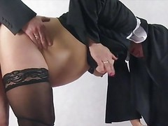 Pregnant nun taken by surprise and fucked from behind movies at find-best-videos.com