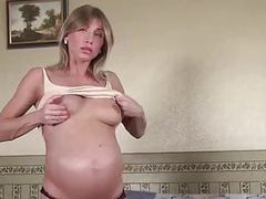 Beautiful solo babe in pregnant fingering (terrifier) movies
