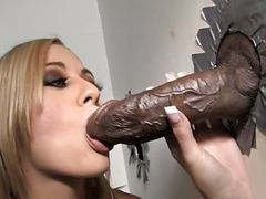 Mae meyers takes bbc - gloryhole videos