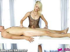 Milkingtable masseuse ensures clients cock satisfaction movies at freekilomovies.com