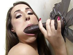 Paige turnah tries her first black gloryhole cock movies at find-best-mature.com