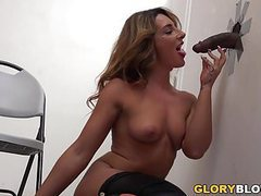 Savannah fox black cock anal - glory hole videos