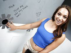 Bbc slut sara luvv visits gloryhole videos