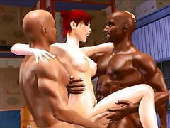3d interracial cuckold gangbang and cave exploring pincess g videos