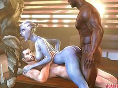 Big tits and ass liara t'soni getting fucked hard videos